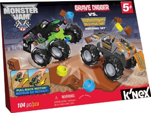 Monster Jam Grave Digger vs. Maximum Destruction Set