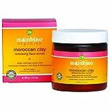 Mambino Organics Face Scrub, Moroccan Clay, 2.2 Ounce