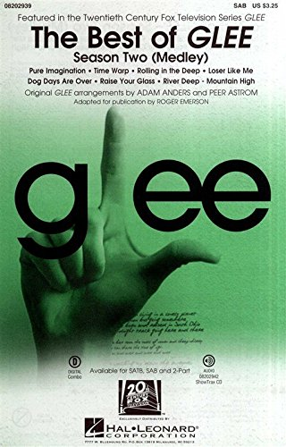 the-best-of-glee-season-two-medley-sab-for-coro-sap-accompagnamento-di-pianoforte-coro