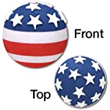 Tenna Tops® - American USA Flag Antenna Topper / Antenna Ball - (We offer one low flat rate 3.50 shipping! Order any quantity or styles of tenna tops and save)
