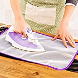 Generic Random Color : 40x60 Cm High Quality Heat Resistant Cloth Mesh Ironing Board Mat Cloth Cover Protect Ironing...