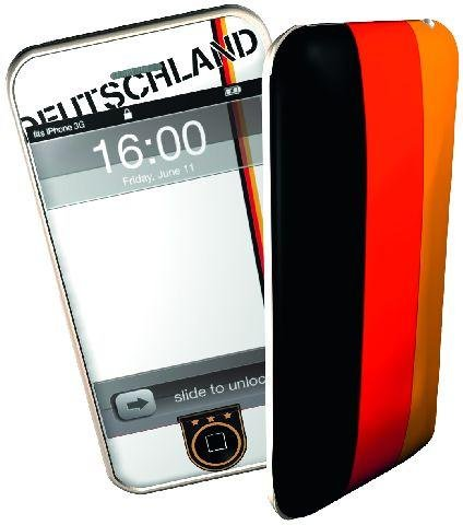 iPhone Skin Deutschland für iPhone 3G und 3Gs iPhone Design-Aufkleber