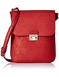 Caprese Women's Sling Bag (Red) - B016O13HBW