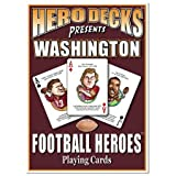 Hero Decks - Washington Redskins - Playing Cards at Amazon.com
