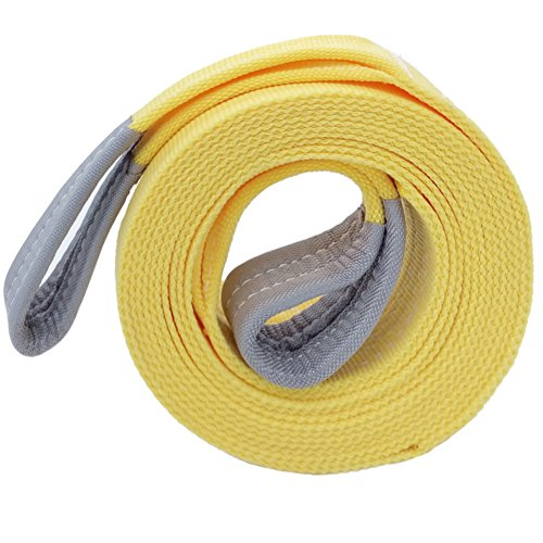 "Best Price Big Ant Nylon Recovery Tow Strap 20K Lb Capacity Emergency Heavy Duty(3"" x 20')"