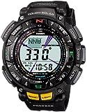 [カシオ]CASIO 腕時計 PROTREK プロトレック Triple Sensor タフソーラー レジスターリンク付き2層液晶モデル PRG-240-1JF メンズ
