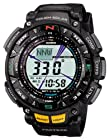 CASIO watch PROTREK Triple Sensor tough solar 2-tier LCD model PRG-240-1JF men's watch