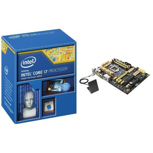 Intel Core i7-4770K and Asus Z87 PRO LGA 1150