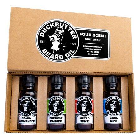 DUCKBUTTER-Duck-Butter-Beard-Oil-Natural-Organic-4-Pack-Boxed-Gift-Set-BEST-DEAL