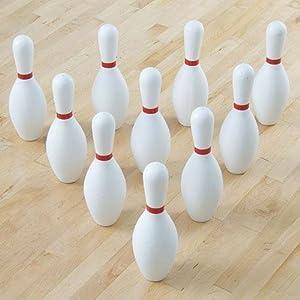 Buy Gamecraft Tuff Foam Bowling Pin Set by Gamecraft