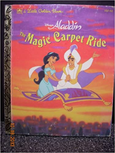 Aladdin The Magic Carpet Ride Book Carpet Vidalondon