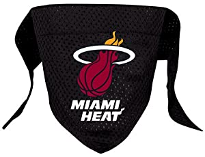 Hunter MFG Miami Heat Mesh Dog Bandana, Large
