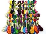 刺しゅう糸 40色セット ミサンガ 刺繍 (40色)