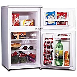 Igloo FR832I 3.2 cu. ft. 2-Door Refrigerator and Freezer
