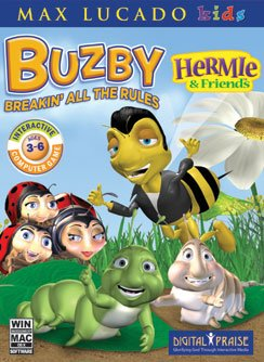 CHRISTIAN COMPUTER GAMES Hermie - Buzby Breakin all the Rules