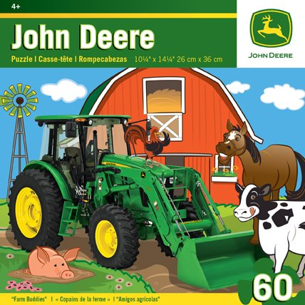Masterpieces Puzzle Company John Deere Farm Buddies Jigsaw Puzzle (60-Piece) front-334235