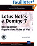 Lotus Notes et Domino 7 : D�veloppeme...