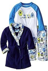 Baby Bunz Little Boys Little Monster 3 Piece Pajama Set