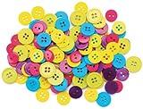 Blumenthal Lansing Favorite Findings Basic Buttons Assorted Sizes, 130/Pkg, Fun