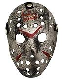 Ari Lehman Autographed Friday The 13th Replica Silver Mask Jason BAS