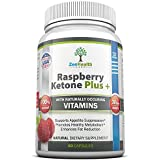 #1 Raspberry Ketones Fresh & Natural Weight Loss Supplement - Advanced 1200mg Ketone Plus Formula - SPECIAL OFFER - MAX Strength Diet Pills & Best All Natural Fat Burner - Full 30 Days Supply