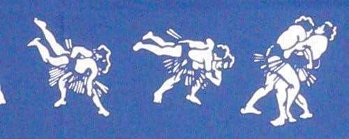 【 戸田屋商店 梨園染 】 注染 手ぬぐい 相撲 決り手