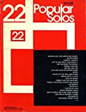 img - for 22 Popular Solos (Vocal with Guitar Chords) book / textbook / text book