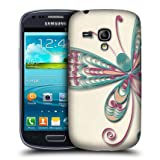 Head Case Butterfly Quilling Back Case Cover For Samsung Galaxy S III mini I8190