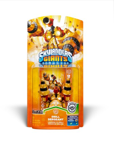 Skylanders Giants Single Character - Drill Sergeant 2
