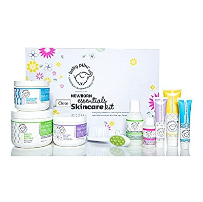 baby pibu Newborn Essentials Skincare Kit - 9 pc