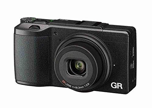 Ricoh-GR-II-Fotocamera-Compatta-Sensore-CMOS-APS-C-da-16-Megapixel-Obiettivo-GR-28-mm-F28-Filmati-Full-HD-LCD-3-Wi-FiNFC-Nero