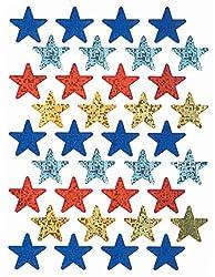 Eureka Assorted Colors Stars Stickers