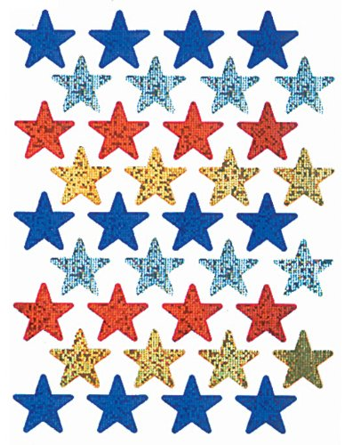 Eureka Assorted Colors Stars Stickers