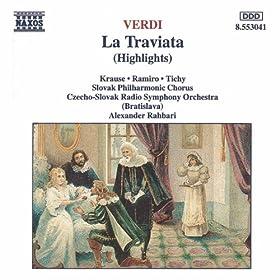 Verdi: Traviata (La) (Highlights)
