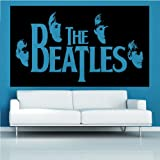 The Beatles Silhouette Decal Vinyl Wall Sticker (CEL100)