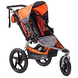 BOB Revolution SE Single Stroller Orange