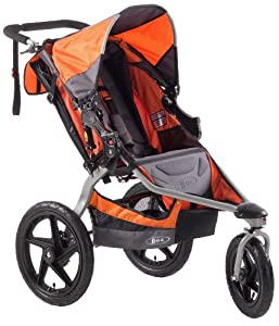 BOB Revolution SE Single Stroller, Orange by BOB