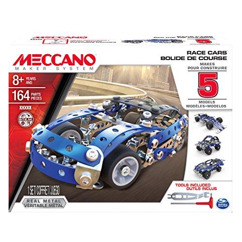 Meccano - 5 Model Set - Race Cars (Car Building Set compare prices)