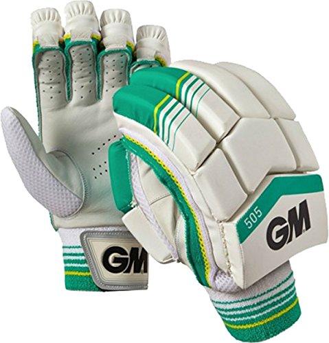 gunn-moore-505-cricket-deportes-match-play-batsman-guantes-de-bateo-de-proteccion-color-multicolor-t