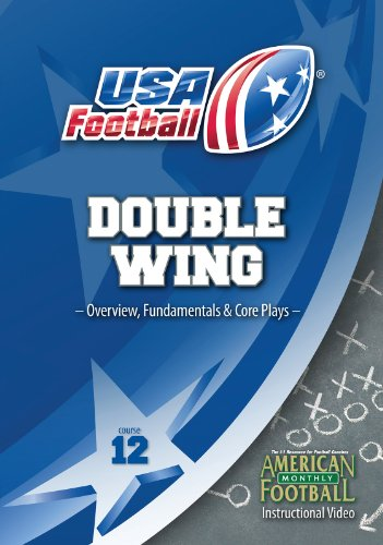 USA Football presents Double Wing Series - Overview, Fundamentals, and Core Plays (Offensive Football Plays compare prices)