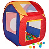 TecTake Childrens Kids Pop Up Ball Pit Play Tent with 200 Balls Indoor