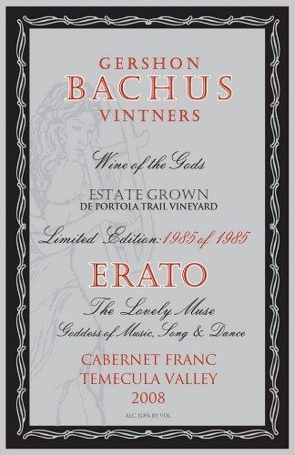 2008 Gershon Bachus Erato Cabernet Franc 750 Ml