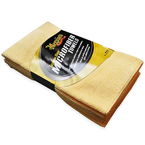 Meguiar's Supreme Shine Microfiber Cloths (Pack of 3)
