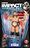 JAMES STORM - TNA DELUXE IMPACT 7 TOY WRESTLING ACTION FIGURE