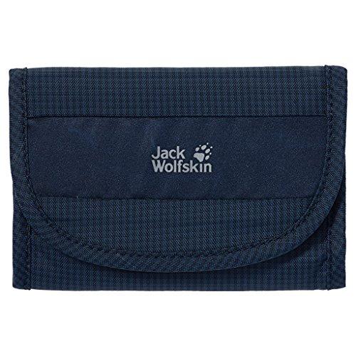 Jack Wolfskin cashbag Wallet-Portafoglio RFID, Unisex, Geldbeutel Cashbag Wallet Rfid, blu notte, 14 x 10 x 2.5 cm, 0.08 Liter