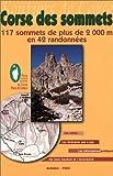 echange, troc Guide Albiana - Topo guide : Corse des sommets