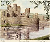 Portrait of Britain, Caerphilly Castle, Wales, Framed