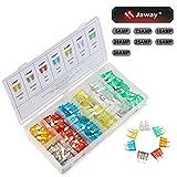 JawayTool 120 Pieces Car Truck Automotive Fuse Assortment 5,7.5,10,15,20,25,30 AMP