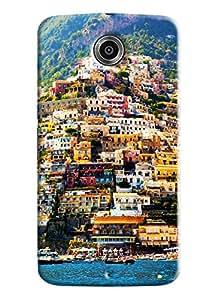 Blue Throat Venice Landscape Printed Designer Back Cover For Motorola Google Nexus 6