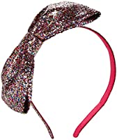 kate spade york Baby Girls Large Bow Headband Ksaog0553, Multi Glitter, One Size from Quidsi